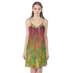 Abstract Trippy Bright Melting Camis Nightgown