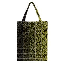 Pixel Gradient Pattern Classic Tote Bag by Simbadda