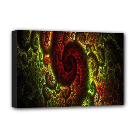 Fractal Digital Art Deluxe Canvas 18  X 12   by Simbadda