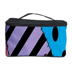 Sally s Patchwork Pattern Cosmetic Storage Case by Alisyart