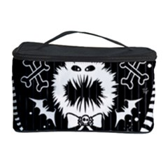 Wrapping Paper Nightmare Monster Sinister Helloween Ghost Cosmetic Storage Case by Alisyart