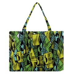 Don t Panic Digital Security Helpline Access Medium Zipper Tote Bag by Alisyart