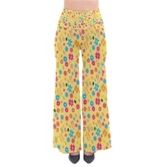 Floral Pattern Pants by Valentinaart