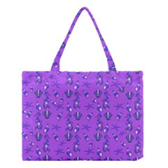 Seahorse Pattern Medium Tote Bag by Valentinaart