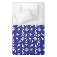Seahorse Pattern Duvet Cover (single Size)