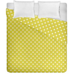 Polka Dots Duvet Cover Double Side (california King Size) by Valentinaart
