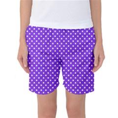 Polka Dots Women s Basketball Shorts by Valentinaart