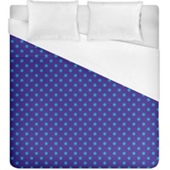 Polka Dots Duvet Cover (king Size) by Valentinaart