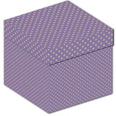 Polka Dots Storage Stool 12   by Valentinaart