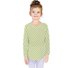 Polka dots Kids  Long Sleeve Tee