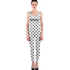 Polka Dots Onepiece Catsuit by Valentinaart