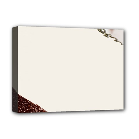 Greeting Card Coffee Mood Deluxe Canvas 16  X 12   by Simbadda
