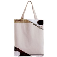 Greeting Card Coffee Mood Zipper Classic Tote Bag