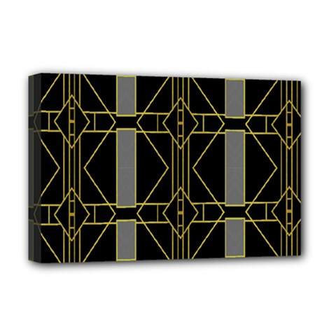 Simple Art Deco Style  Deluxe Canvas 18  X 12   by Simbadda