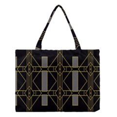 Simple Art Deco Style  Medium Tote Bag by Simbadda