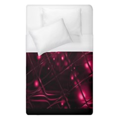 Picture Of Love In Magenta Declaration Of Love Duvet Cover (single Size) by Simbadda