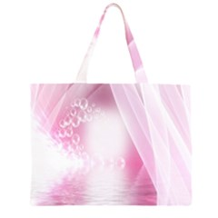 Realm Of Dreams Light Effect Abstract Background Zipper Large Tote Bag by Simbadda