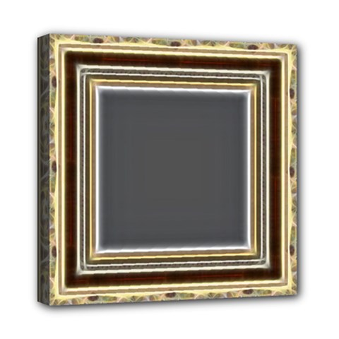 Fractal Classic Baroque Frame Mini Canvas 8  X 8  by Simbadda