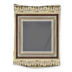 Fractal Classic Baroque Frame Medium Tapestry by Simbadda