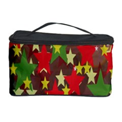 Star Abstract Multicoloured Stars Background Pattern Cosmetic Storage Case by Simbadda