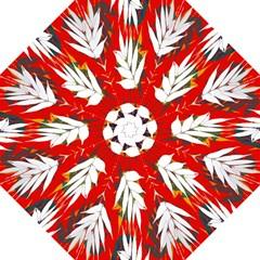 Leaves Pattern Background Pattern Straight Umbrellas by Simbadda