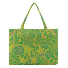 Floral Pattern Medium Tote Bag by Valentinaart