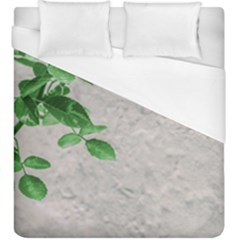 Plants Over Wall Duvet Cover (king Size) by dflcprints