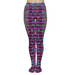 Raining Rain And Mermaid Shells Pop Art Women s Tights by pepitasart