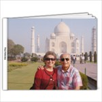 Taj Mahal10 - 11 x 8.5 Photo Book(20 pages)