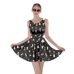 Lovely Cats Pattern Skater Dress by CoolDesigns