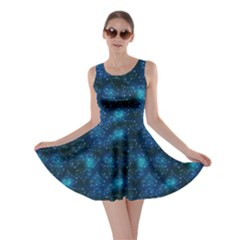Blue Night Night Skater Dress by CoolDesigns