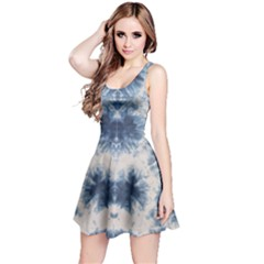 Washed Tie Dye Reversible Sleeveless Dress by CoolDesigns