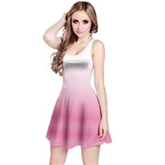 Pink Gradient Tie Dye Sleeveless Dress  by CoolDesigns