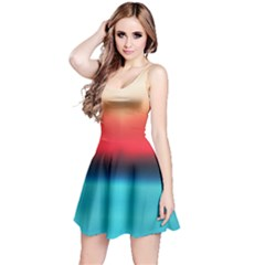 Sunrise Gradient Reversible Sleeveless Dress