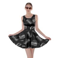 Blackboard Hamburger Skater Dress by CoolDesigns