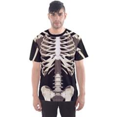 Faux Skeleton Men s Sport Mesh Tee