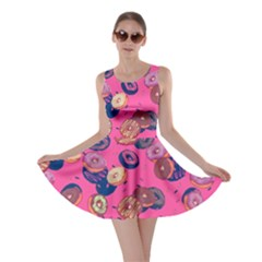 Hot Pink Donut Skater Dress by CoolDesigns