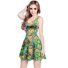 Colorful Garden 2 Sleeveless Dress by CoolDesigns