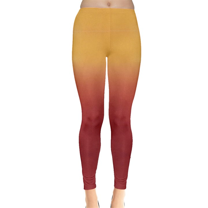 Sunset Gradient Tie Dye Leggings