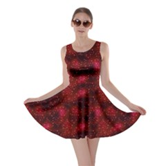 Red Night Night Skater Dress by CoolDesigns
