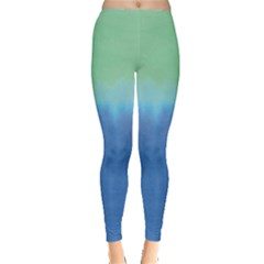 Shore Gradient Tie Dye Leggings by CoolDesigns