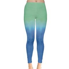 Shore Gradient Tie Dye Leggings by CoolDesigns