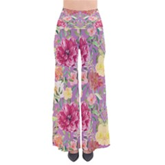 DarkCoral Chic Palazzo Pants by CoolDesigns