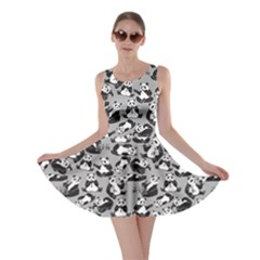Gray Panda Skater Dress by CoolDesigns
