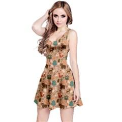Autumn Version Reversible Sleeveless Dress