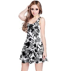 Blackshadowgray Sleeveless Skater Dress