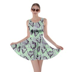 Mint Ghost Halloween Skater Dress by CoolDesigns