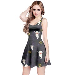Gray Halloween Reversible Sleeveless Dress by CoolDesigns