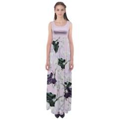 Zantedeschia Empire Waist Maxi Dress by CoolDesigns