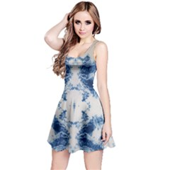 Jean Like Tie Dye Sleeveless Dress by CoolDesigns
